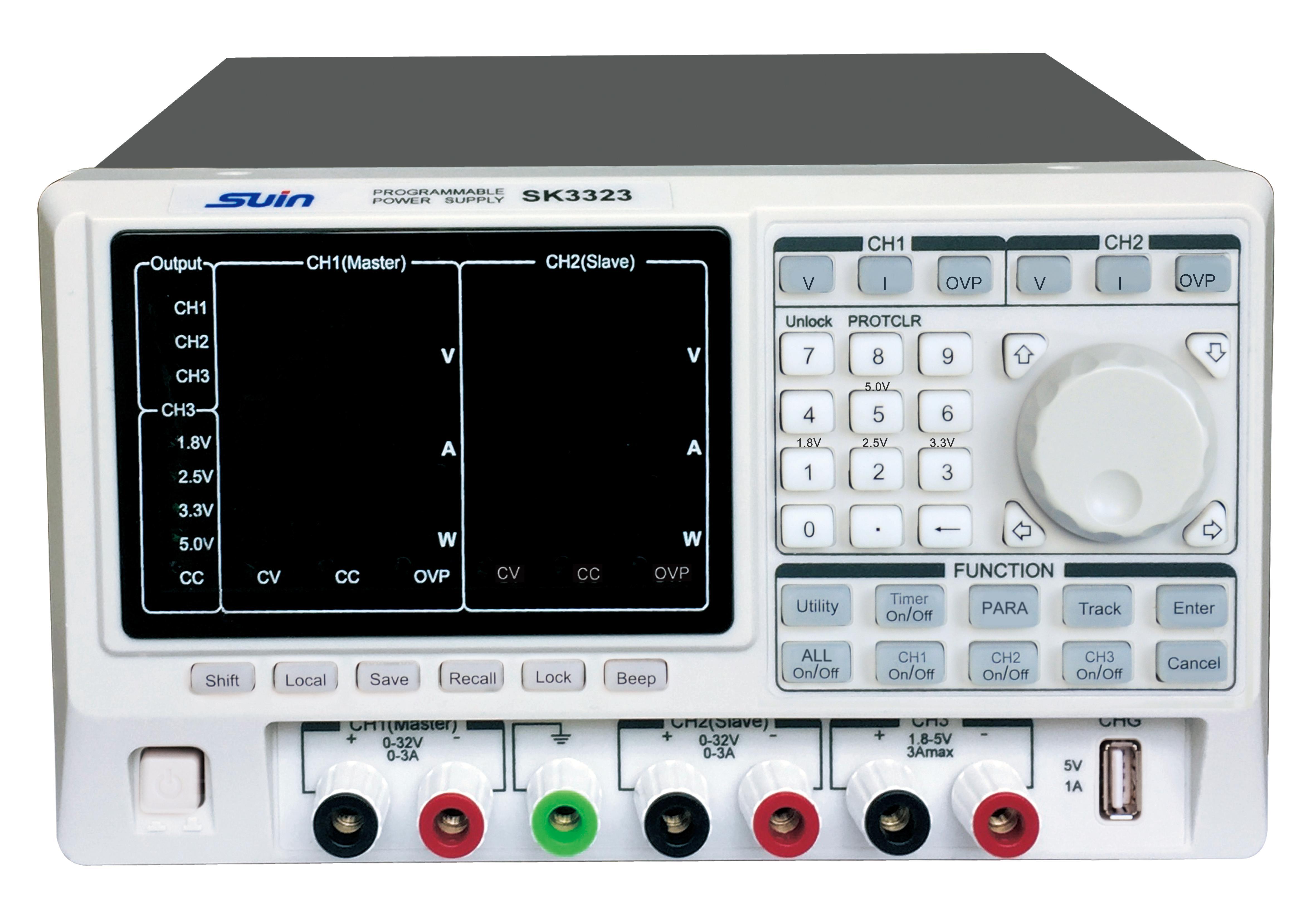 SK3323程控直流稳定电源