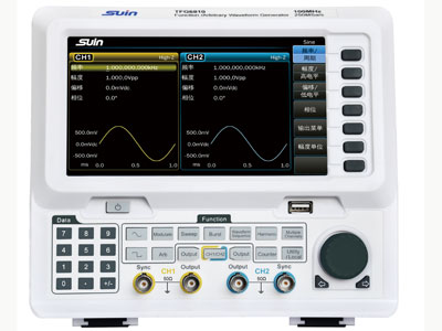 TFG6800系列函数/任意波形发生器