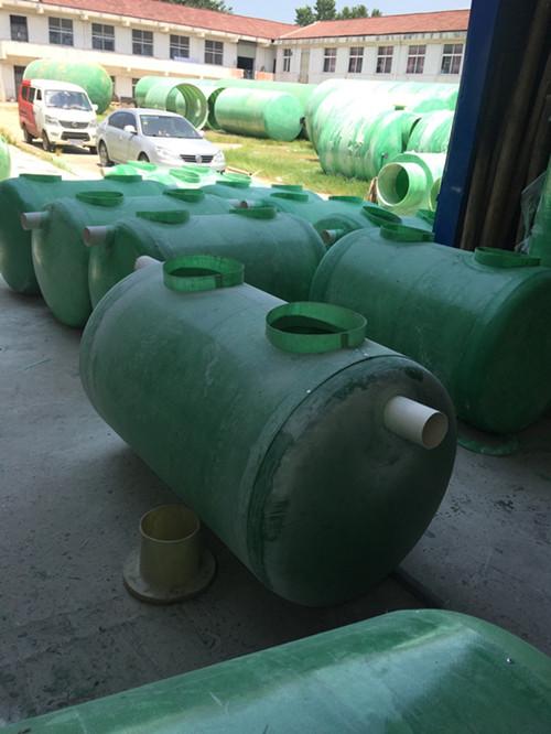 农村污水治理专用玻璃钢化粪池