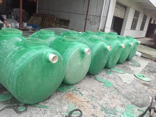 农村污水治理专用玻璃钢污水池