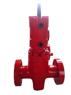 PFF35-103液动平板阀