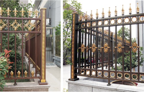 【技巧】铝艺庭院大门供应商 铝艺庭院大门优势