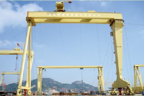 320吨造船门机