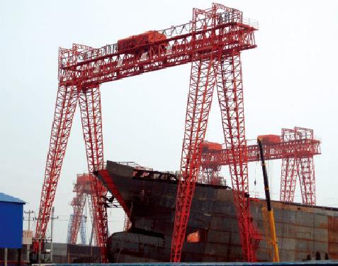 造船用龙门起重机