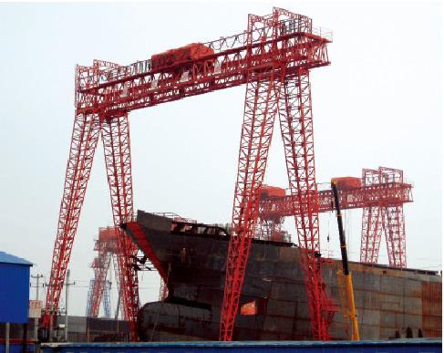 造船龙门起重机