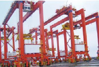 大吨位造船门机