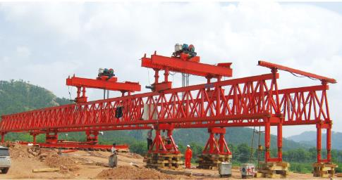 单梁式架桥机