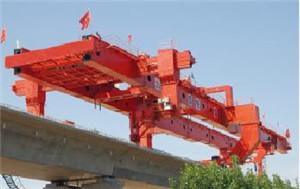 架设桥梁的机器