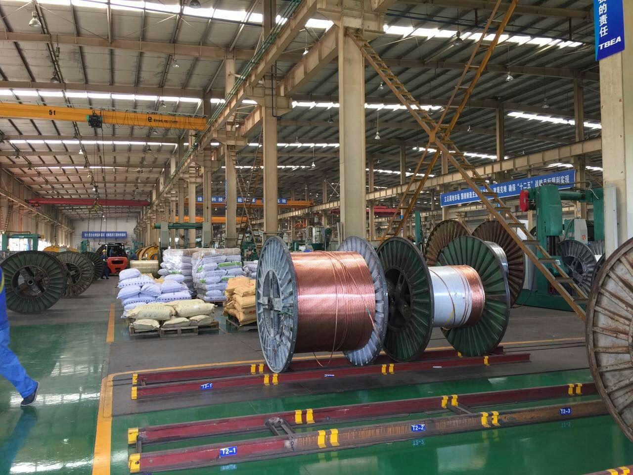 特变电工电线电缆生产车间