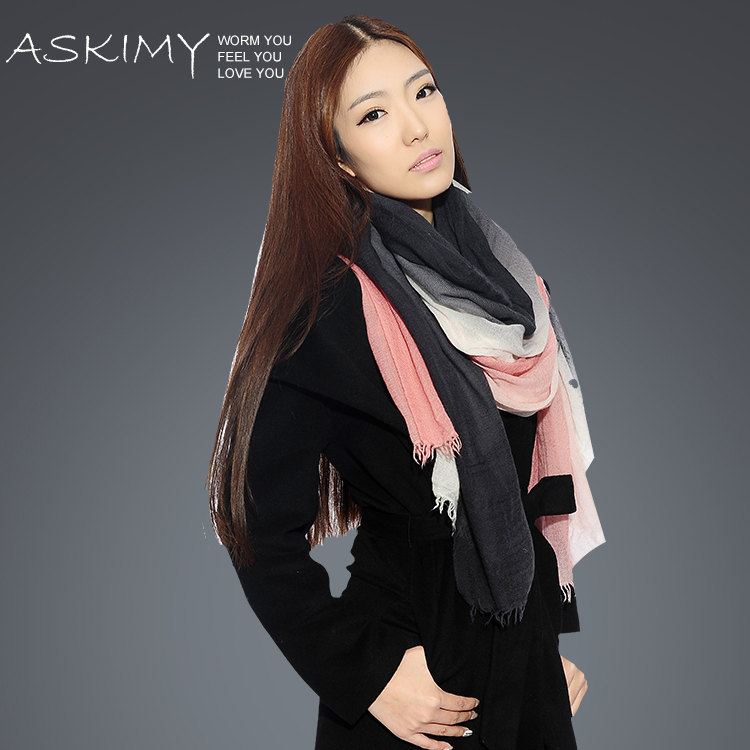 羊绒围巾良好的吸湿性,羊绒围巾,羊绒围巾舒适