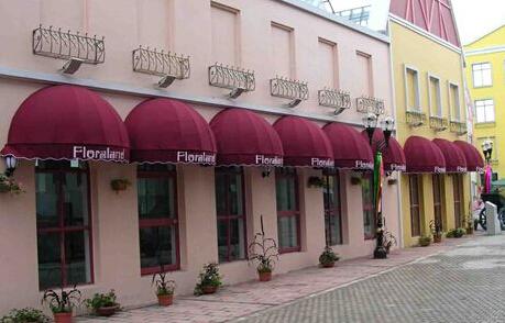商業街裝飾蓬價格