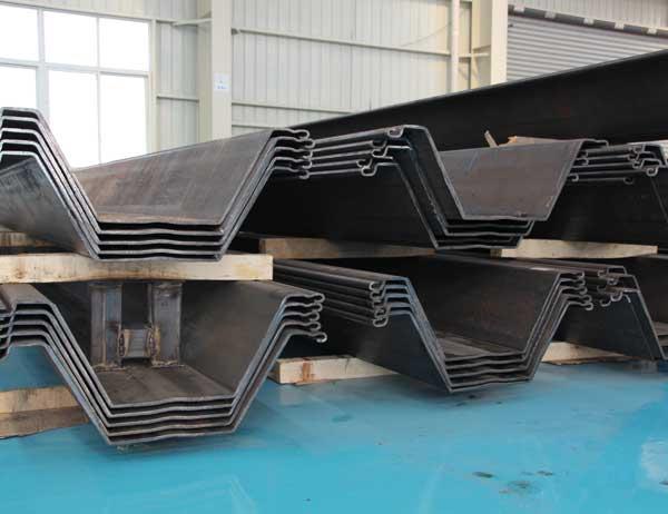 M型钢板桩生产