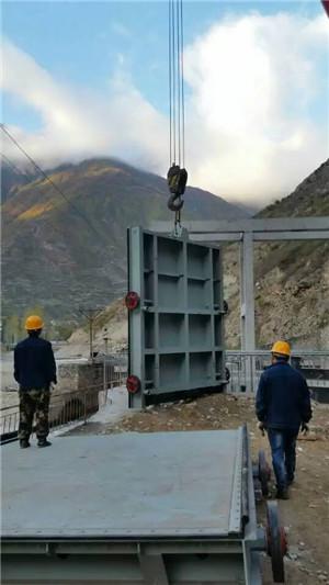 大型平面定轮钢制闸门