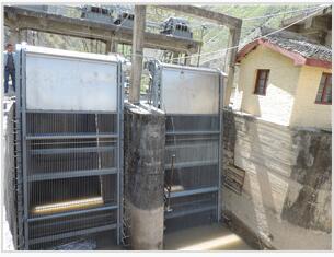 水电站清污机
