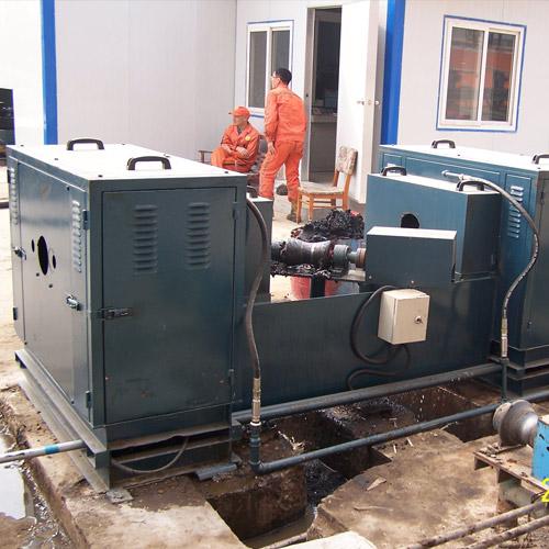 油管浮動式外洗機