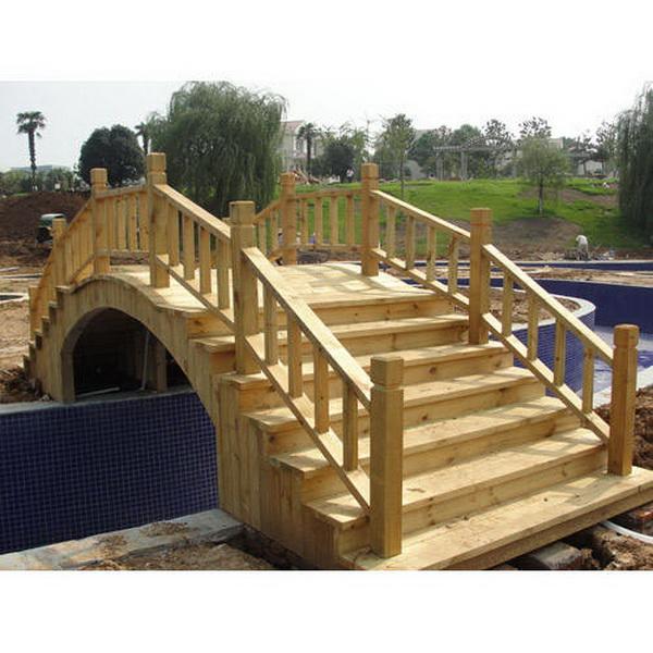 六盘水防腐木拱桥