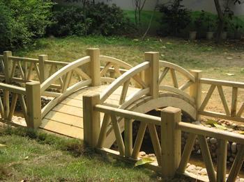 贵州防腐木拱桥
