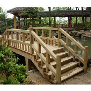 贵阳防腐木拱桥