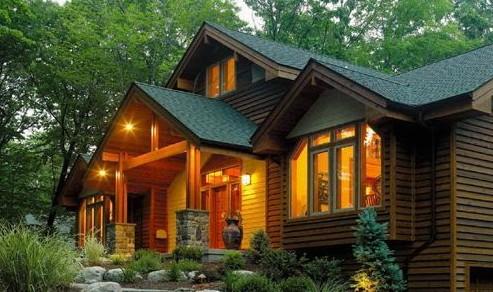 贵州防腐木房屋