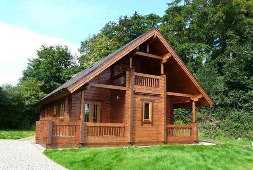 防腐木房子