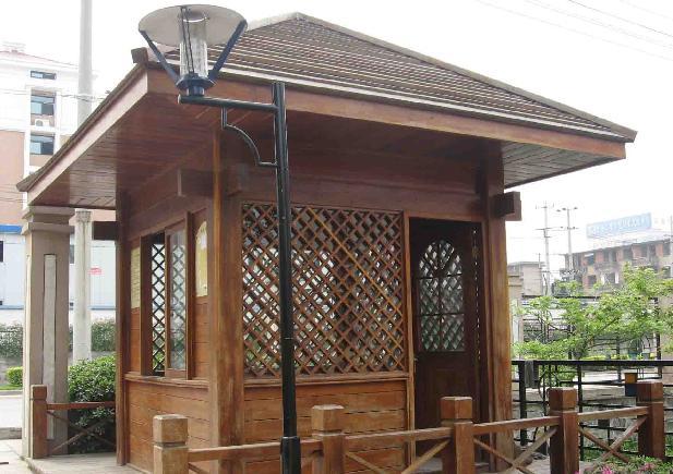 贵州防腐木屋