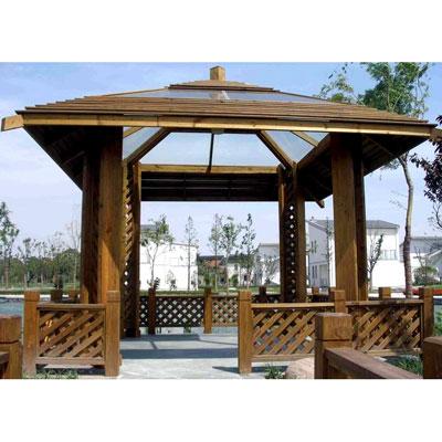 贵阳碳化木凉亭