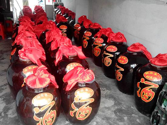 坛子酒制造商