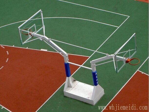 篮球场地坪施工