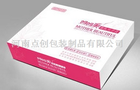 精品包装盒河南化妆品包装盒生产工艺 液体面膜盒的广告牌效应