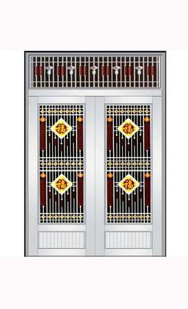 【组图】防盗门厂家讲述仿铜门的使用和保养 智能锁选购四大注意事项