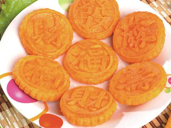南瓜饼制作