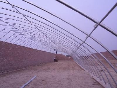 食用菌大棚建造