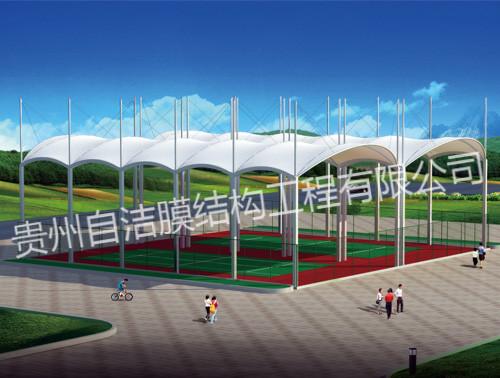 贵州膜结构看台