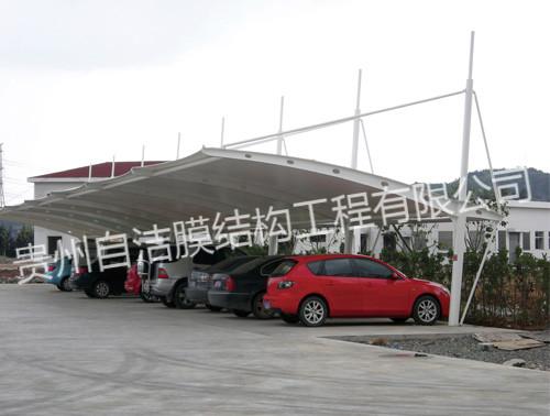 膜结构停车棚制作