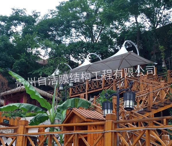 黔贵六广温泉旅游景观棚