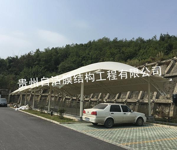 停车场膜结构