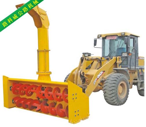【图文】除雪铲有什么用_除雪车的使用