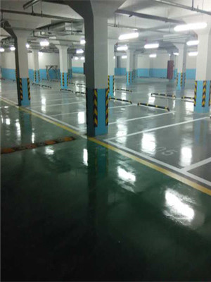 複合綠耐磨地坪