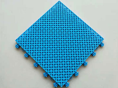 悬浮拼装运动地板