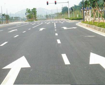 四川道路划线