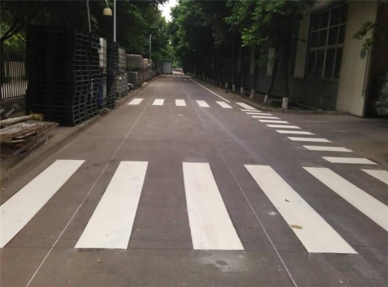 成都人行道标线