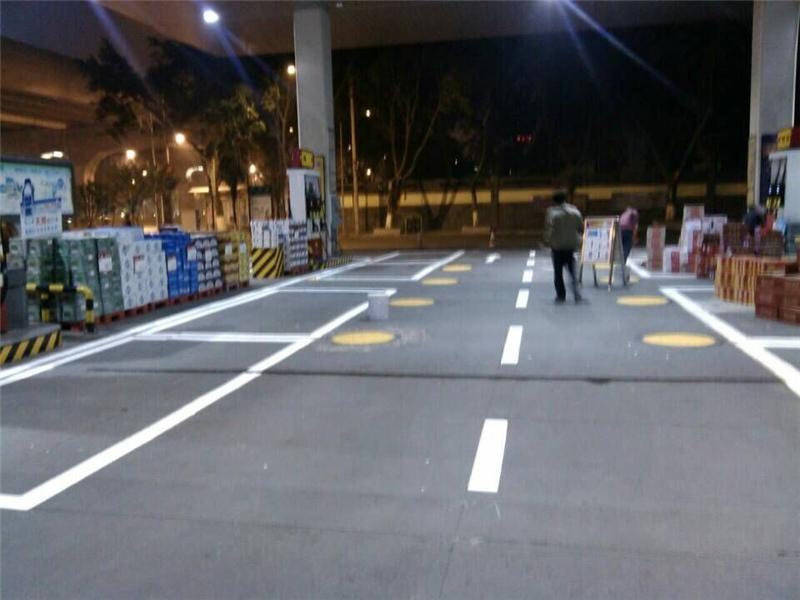 成都停车标线
