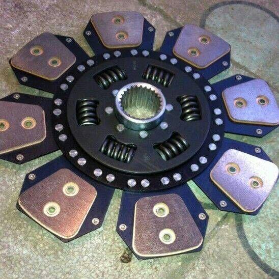 铜基片离合器片