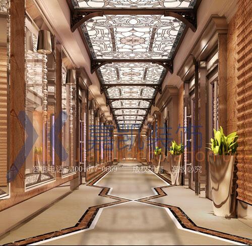 郑州ktv装修设计KTV走廊设计要考虑哪些 怎么规划ktv规划设计