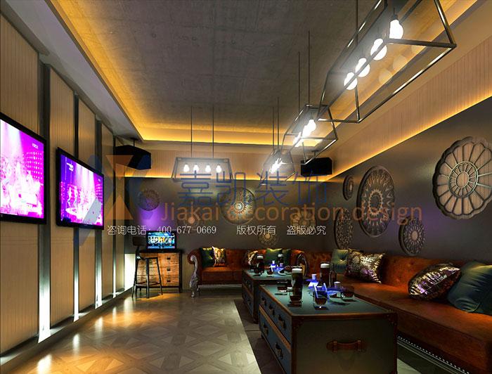 郑州ktv装修设计KTV走廊设计的重要性 为什么选择ktv设计