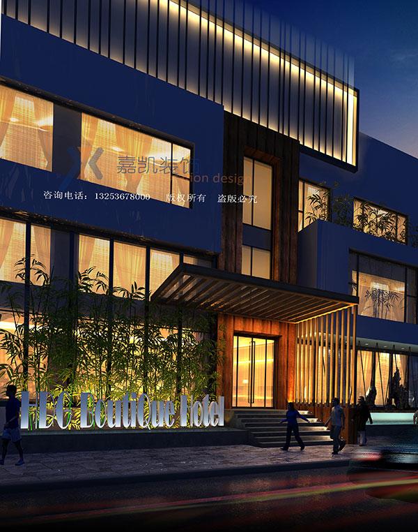 河南主题酒店设计