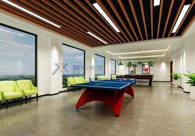 郑州台球室设计