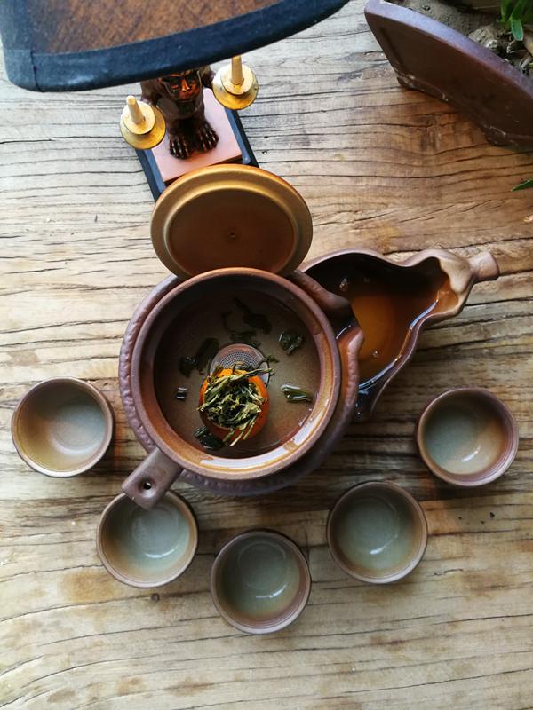 手作橘绿茶