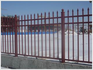 锌钢厂区围栏1