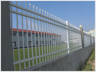 锌钢厂区围栏3